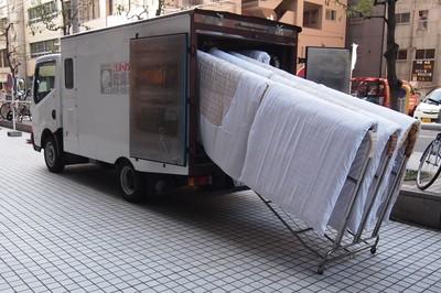 寝具の加熱乾燥