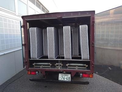 乾燥車 ふとん乾燥車 加熱乾燥車 マット乾燥 マット消毒