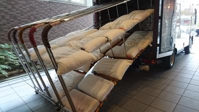 加熱乾燥車 寝具乾燥車 ふとん乾燥車 布団乾燥車 畳乾燥車 たたみ乾燥車 和歌山市 ダニ トコジラミ