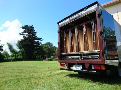 加熱乾燥車 乾燥車 布団乾燥車 寝具乾燥車 ふとん乾燥車